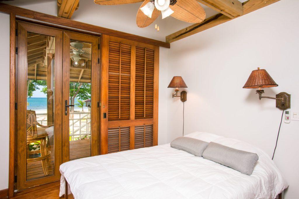 Baliのvillaベッドルーム