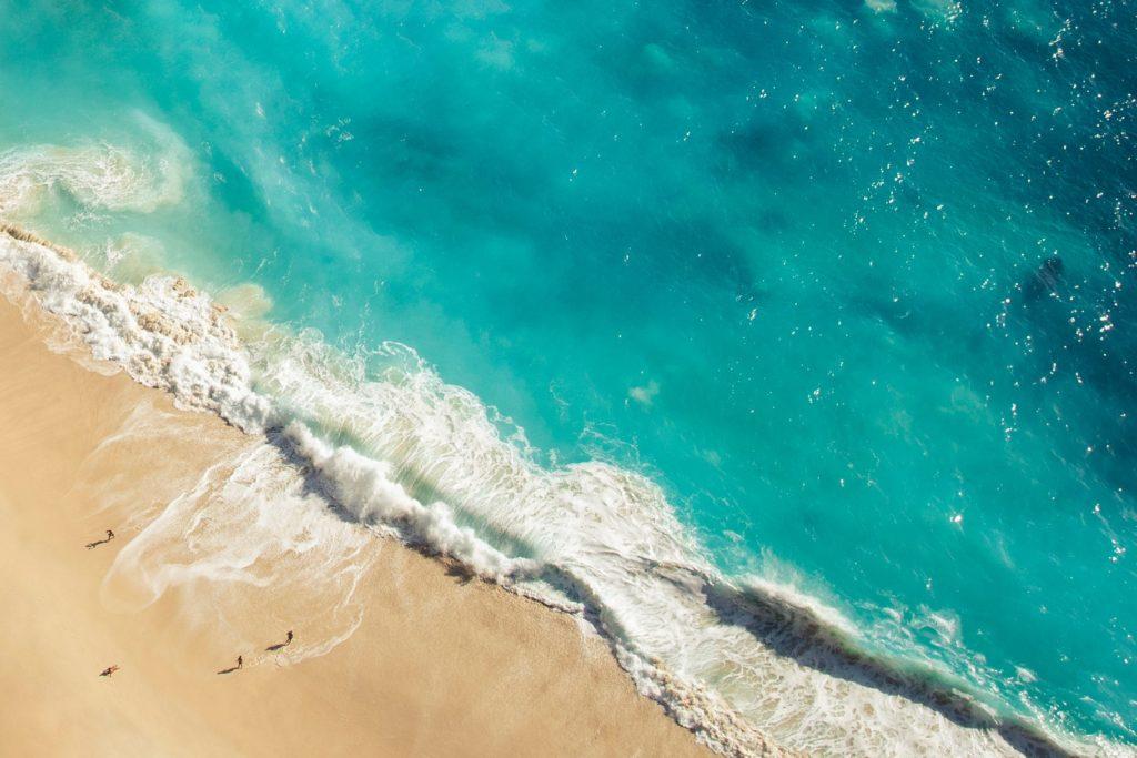 バリのビーチ